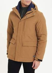 Tan Hooded Parka jacket £14.75 delivered (use code) from Matalan