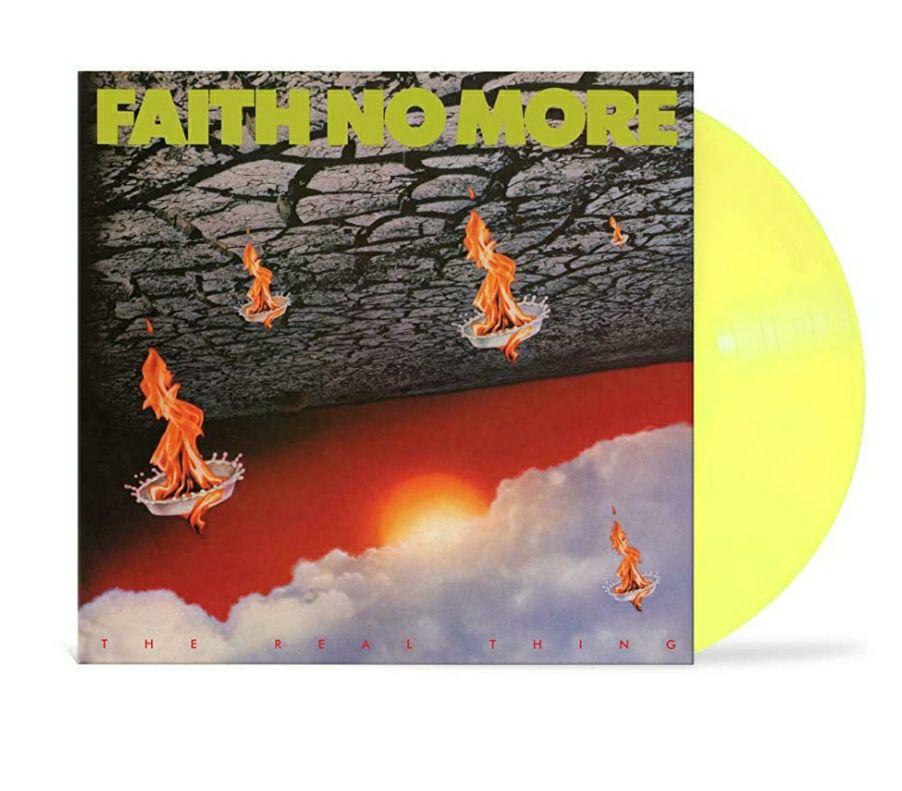 Faith No More - The Real Thing (Colour Vinyl) £16.01 (+£2.99 non-prime) @ Amazon