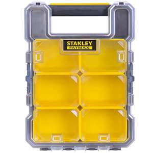 30% on Stanley tool storage (e.g. Stanley Fatmax Pro Small Organiser for £11.83) with click & collect @ Homebase