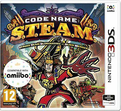 Code Name: S.T.E.A.M. Nintendo 3DS Game - £1.25 Delivered @ Argos / eBay