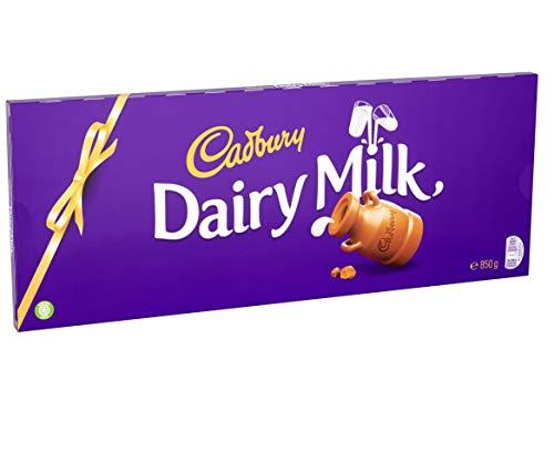 Cadbury Dairy Milk Chocolate Gift Bar 850g £7.49 (+£4.49 non-prime) @ Amazon