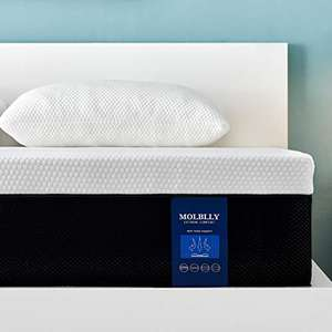 Molblly King size memory foam mattress £179.99 - Sold by Molblly Home EU and Fulfilled by Amazon