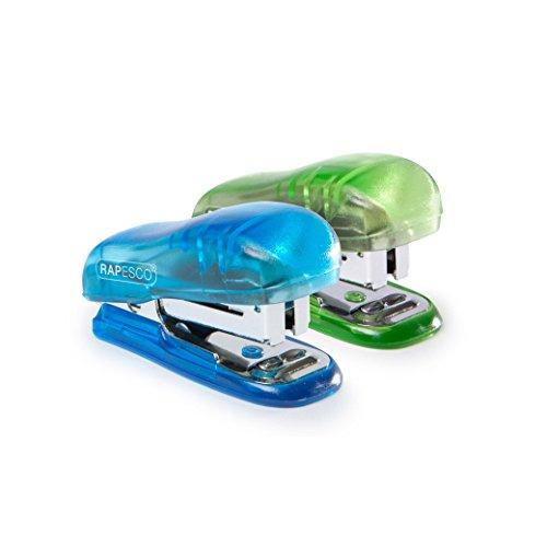 Rapesco Bug Mini Stapler, Blue or Green - 99p Prime (+£4.49 Non Prime) @ Amazon