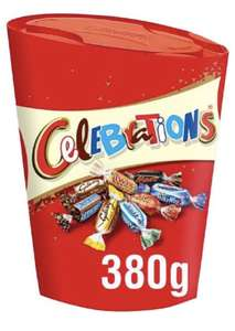Celebrations Large Chocolate Box, (Maltesers, Galaxy, Snickers and More) 380 g £3 + £4.49 Non Prime @ Amazon