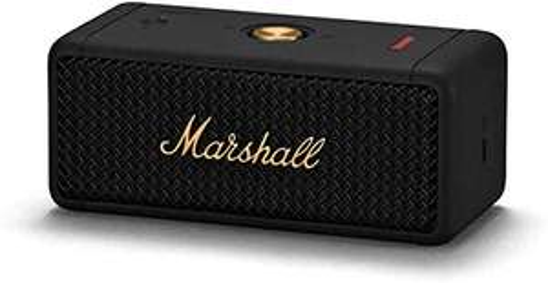 Marshall Emberton Portable Bluetooth Speaker - Black and Brass £109 @ Amazon