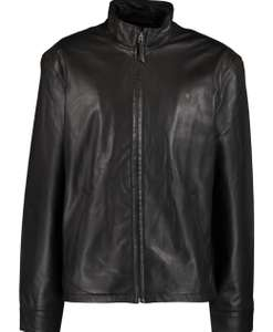 POLO RALPH LAUREN XL Brown or Black Leather Zip Jacket £154 delivered @ TKMaxx