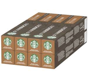 Starbucks House Blend by Nespresso Medium Roast Coffee Pods (Pack of 8, Total 80 Capsules) - £18.20 (+£4.49 Non Prime / £16.38 S&S) @ Amazon
