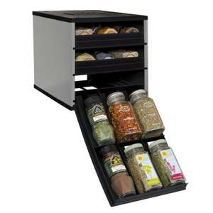 YouCopia spice racks in three sizes from £12-£16 (e.g. Silver 18 Bottle Classic SpiceStack for £12 delivered) @ WeeklyDeals4Less