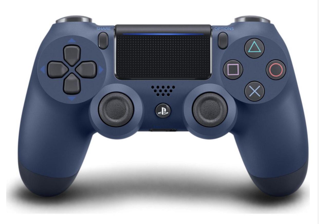 PLAYSTATION DualShock 4 Wireless Controller - Midnight Blue - £39.99 @ Currys PC World