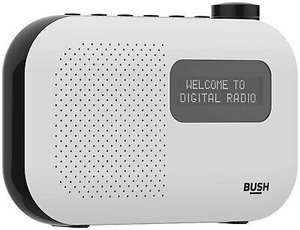 Bush Mono DAB Radio - White - £13.66 @ Argos / ebay (UK Mainland)