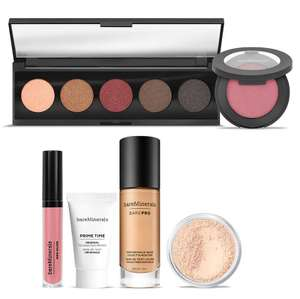 bareMinerals Exclusive Fabulously Flawless 6 Pieces Collection (Various Shades) now £29.70 delivered @ LOOKFANTASTIC