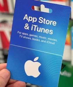 iTunes Gift Cards - Up To 15% Off i.e 10% off £25 / 15% off £30+ instore @ Tesco