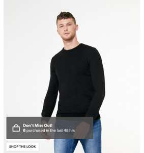 New look fine knit crew jumper various colours - £11.99 + £2.99 Delivery @ New Look