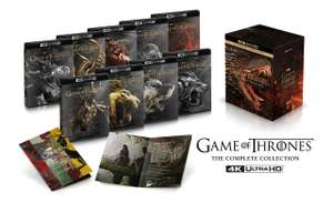Back to 4K Ultra HD Blu-ray Game of Thrones: The Complete Series - £159.99 with code @ HMV