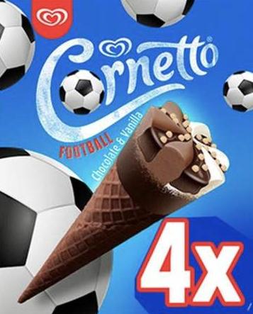 4pk Cornetto Chocolate & Vanilla 79p @ Farmfoods