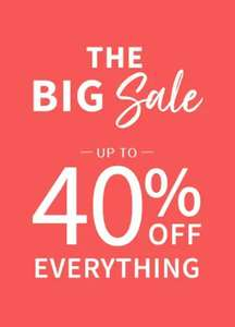 Up to 40% off Sale Prices From £1.50 + £1.99 Click and collect Free on Orders over £50 From La Redoute