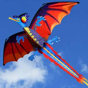Dragon Kite With Tail Kites For Adults - 100m £11.52 Delivered (10-Day) @ AliExpress / Classic Fun Store