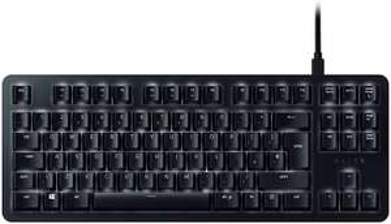 Razer BlackWidow Lite Office- and Gaming Keyboard: Razer Orange Mechanical Switches (Tactile & Silent) - £37.99 delivered @ Amazon