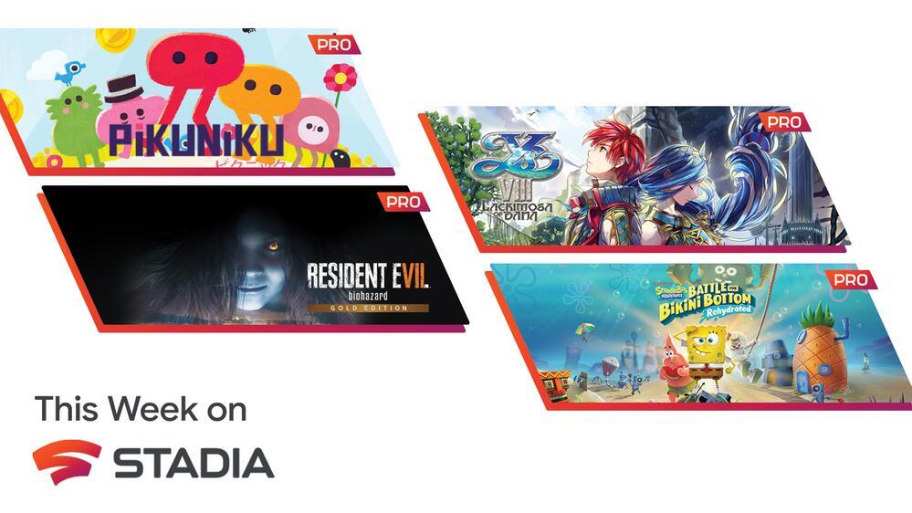 Stadia Pro April Games : Spongebob Squarepants/ Pikuniku/ Lacrimosa Of Dana + Play Elder Scrolls Online Free for 2 weeks @ Google Stadia