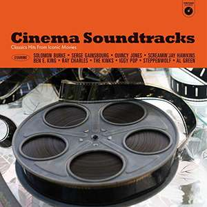Cinema Soundtracks - Classic Hits from Iconic Movies [180g VINYL] - £10.46 delivered (Non-Prime +£2.99) @ Amazon