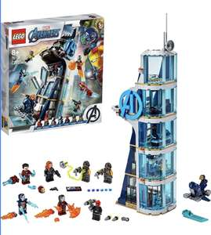 Lego Marvel Avengers Tower Battle £60.38 (UK Mainland) sold by Amazon EU @ Amazon