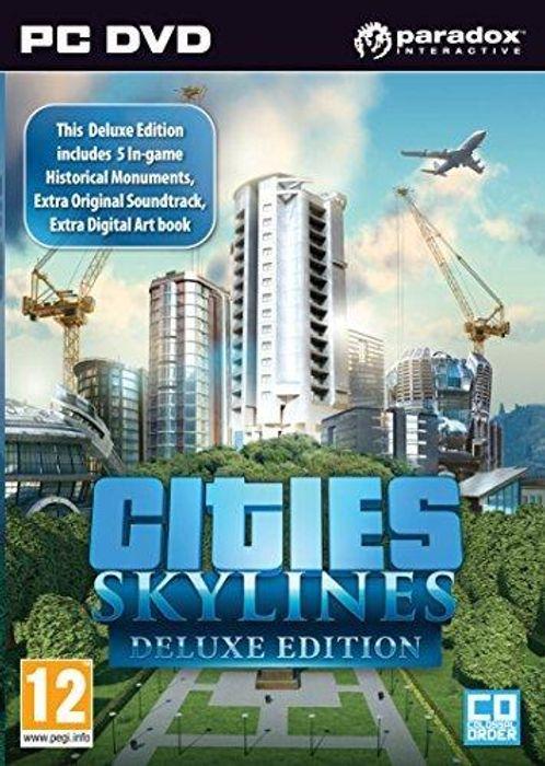 Cities Skylines Deluxe Edition PC/MAC - £2.99 @ CDKeys