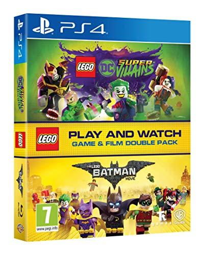 LEGO DC Super-Villains Game & Film Double Pack (PS4) £6.98 (Prime) / £9.97 (Non Prime) Delivered @ Amazon