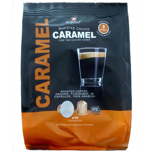 Simply Swiss Nespresso Compatible Pods. Caramel or Vanilla 59p instore @ B&M Barrow In Furness