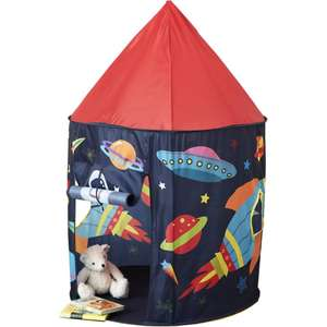Kids Space Rocket Pop Up Tent - £12 Plus Free C&C or free shipping with orders over £25 @ HobbyCraft