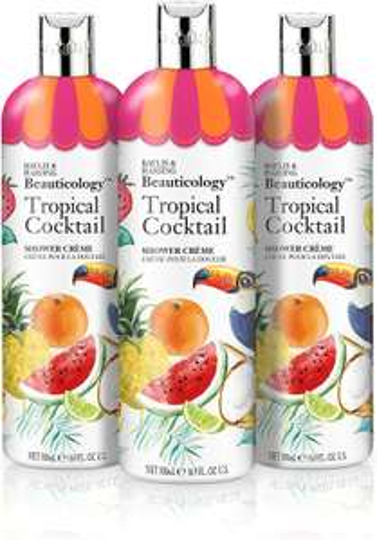 Baylis & Harding Beauticology Shower Creme, Tropical Cocktail, 500 ml, Pack of 3 - £4.97 (+£4.49 Non-Prime) @ Amazon