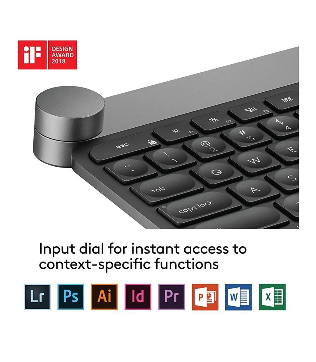Logitech Craft - UK English and Adobe Creative Cloud - £134.25