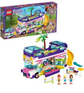 LEGO Friends 41395 Friendship Bus Toy with Swimming Pool and Slide, Summer Holiday Playset £38.95 at Amazon