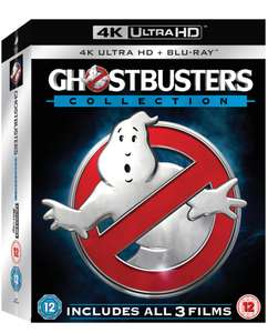 Ghostbusters 1-3 collection 4K UHD £21.99 delivered with code @ HMV