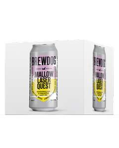 Brewdog Mallow Laser Quest Hazy IPA 4 x 440ml £6 Clubcard Price @ Tesco