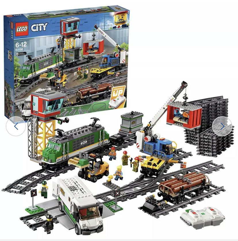 LEGO City Cargo Train RC Battery Powered Set - 60198 - £120 @ Argos