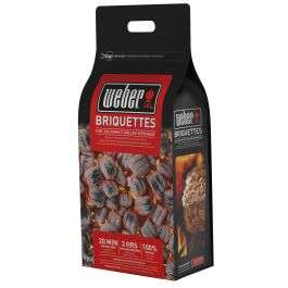 Weber Barbecue Briquettes - 8kg £8.39 + £5.95 Delivery @ Moleonline (the value is for people ordering 3 bags at once)