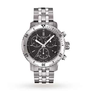 Tissot PRS 200 Men's chronograph watch 200M - Now £252 with code EXTRA10 at Goldsmiths