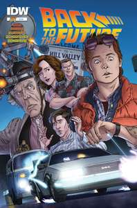 Free digital copy of Back to the Future comic #1 by IDW