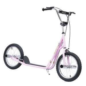 """Scooter with Pneumatic 16"""" Tyres £67.19 using new customer code + Free UK mainland delivery @ Aosom"""