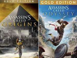 [PS4/PS5] Assassin's Creed Odyssey Gold Edition - £10.32 & Origins Gold - £8.84 @ Brazil Playstation Store