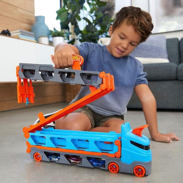 Hot Wheels City Speedway Hauler - £21.99 delivered @ Smyths Toys