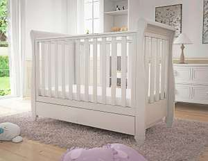 Babymore Eva Sleigh Cot Bed - £159 @ The Pud Store
