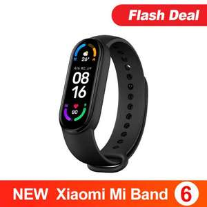 """Xiaomi Mi Band 6 Fitness Band 1.56"""" AMOLED with Blood Oxygen for £33.01 (Possible £31.51 with PayPal) delivered @ AliExpress / hxml Store"""