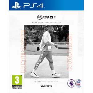 FIFA 21 Ultimate Edition (PS4 / Xbox One + Next Gen Upgrades) - £21 (UK Mainland only) at AO