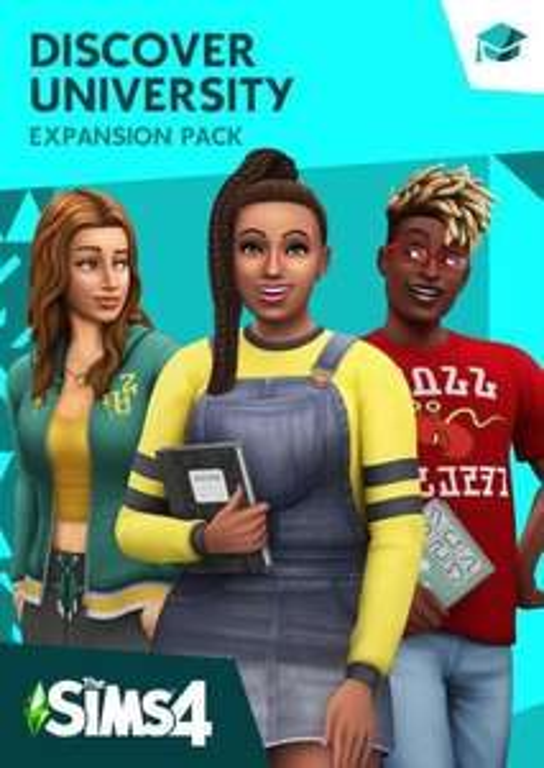The Sims 4 - Discover University Expansion Origin PC - £8.99 @ CDKeys