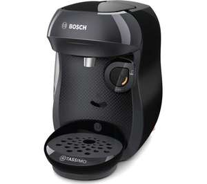 Bosch Tassimo Happy Pod Coffee Machine - Black - £24.99 with code @ Robert Dyas (free click and collect)