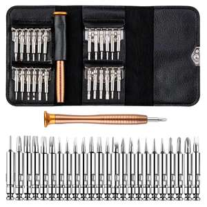 Portable Screwdriver Set with 25 Bits £4.05 delivered / £1.34 for new users @ Ali Express / AliExpress Taihom Electric Store