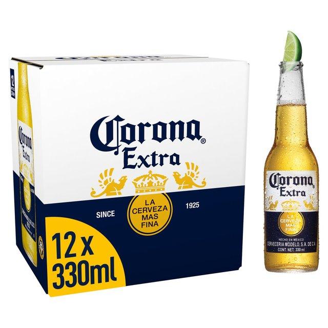 Corona Extra Premium Lager Beer bottles 12 x 330ml - £9.99 @ Morrisons