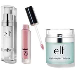 60% Off Spring Beauty Sale, with Free Delivery + 2 Free Gifts on £25 spend (otherwise £2.95) @ e.l.f Cosmetics