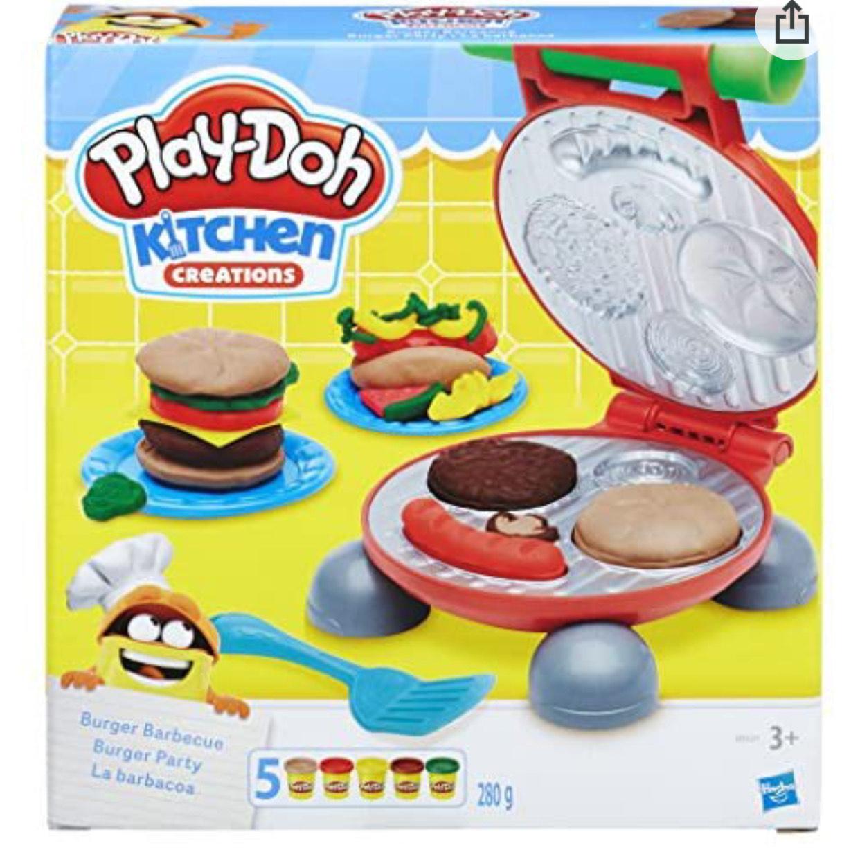 Play-Doh Burger Barbecue Set - £9.99 (+£4.49 Non Prime) @ Amazon